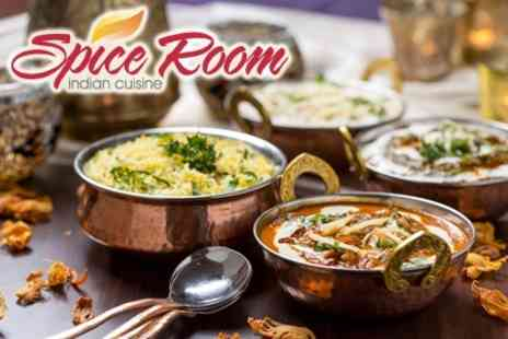 Spice Room - Three Course Indian Meal With BYOB For Two - Save 61%