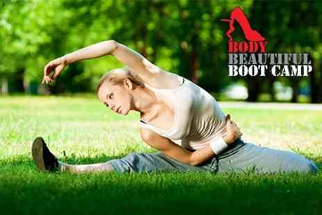 Body Beautiful Boot Camp - Eight Sessions - Save 40%