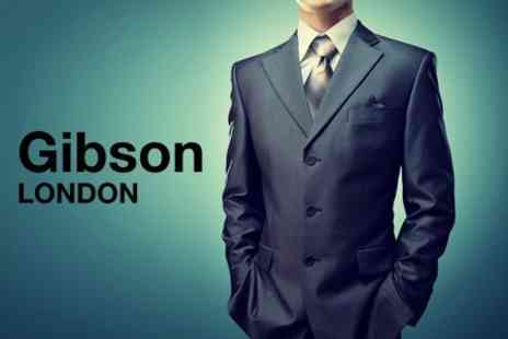 Gibson - Made To Measure Two Piece Suit - Save 56%