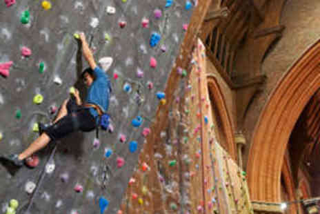 Manchester Climbing Centre - Indoor Climbing Course - Save 62%