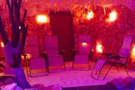 Himalayan Salt Mines - Salt Therapy Treatment for Two with Lunch - Save 64%