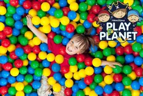 Hamiltons Play Planet - Hamiltons Play Planet Entry and Drinks for Three  - Save 62%