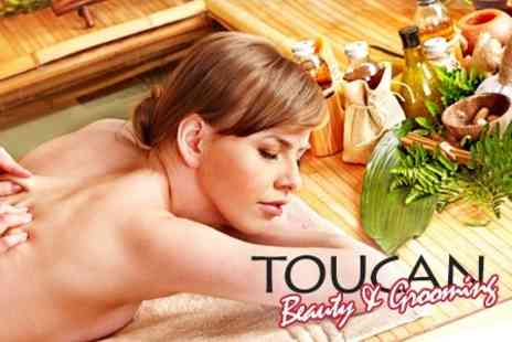 Toucan Beauty and Grooming - One Hour Aromatherapy Full-Body Massage - Save 63%