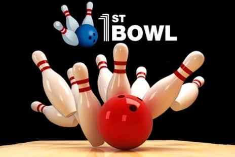 1st Bowl Lewisham - Bowling One Games For Up to Six People - Save 70%