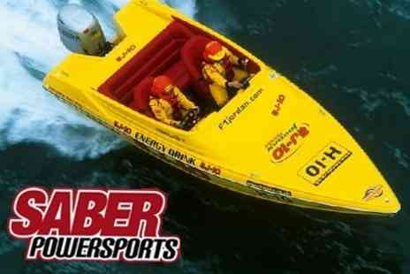Saber Powersports - Powerboating Taster Session For One - Save 71%