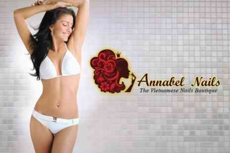 Annabel Nails - Waxing Underarms and Brazilian or Bikini - Save 65%