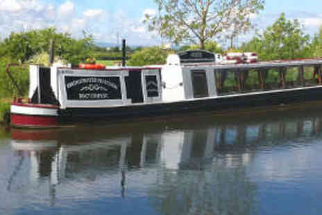 Bridgewater Heritage Boat - Canal Cruise with Cream Tea for Two People - Save 50%