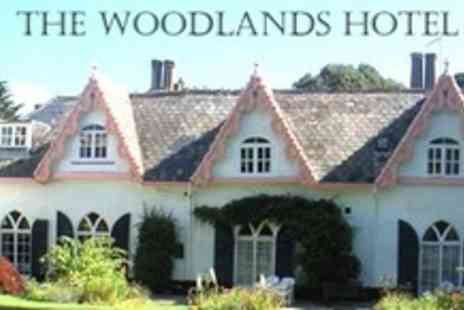 The Woodlands Hotel - Two Night Sidmouth Break For Two With Dinner - Save 61%