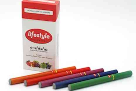 Lifestyle Cigarettes - 5 Fruity Flavours of Electronic Shisha As Seen On TOWIE - Save 83%