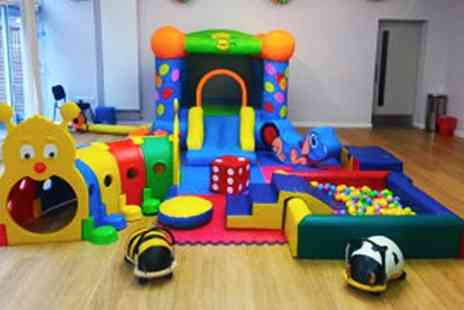 Pop up Party - Mobile Soft Play Hire including Bouncy Castle - Save 50%