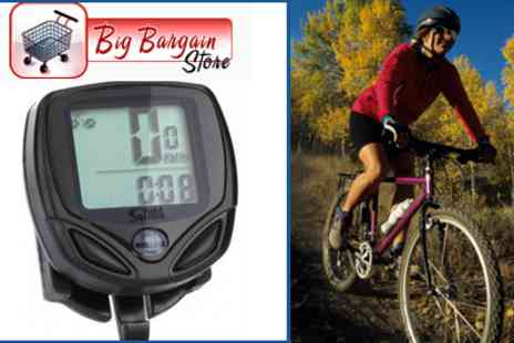 Bigbarginstore - See the Speed you can Reach on your Bike with this Wireless Bike Computer LED Speedometer - Save 55%