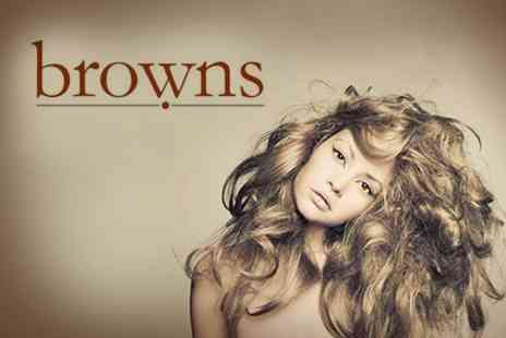 Browns Salon - Cut and Blow Dry - Save 52%