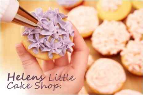 Helens Little Cake Shop - Cupcake Decorating Workshop For One - Save 63%