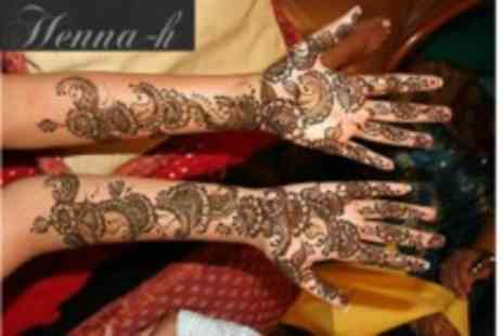 Henna H - Four Hour Henna Class For One - Save 74%