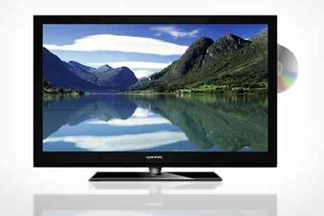 "WAM Europe - 24"" Qantec Full HD 1080P LED DVD Combi TV with Freeview - Save 20%"