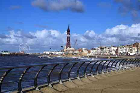 Henson Hotel - Three night Blackpool break for two including breakfast and a three course dinner- Save 62%