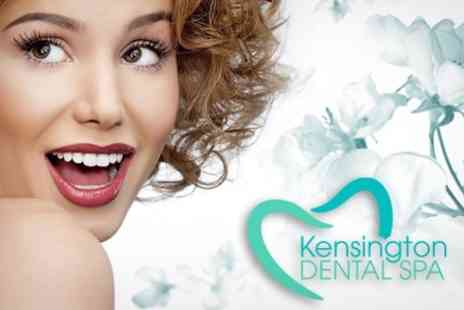 Kensington Dental Spa - Zoom 2 Laser Teeth Whitening Plus Airflow Sparkle and Polish - Save 70%