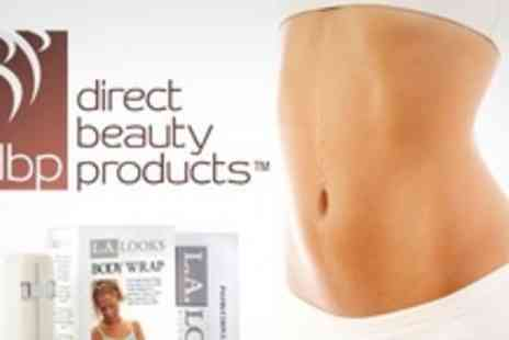 Direct Beauty Products - LA Looks Home Body Wrap Kit - Save 62%