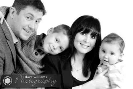 Dave Williams Photography - Family Photoshoot With Prints - Save 88%