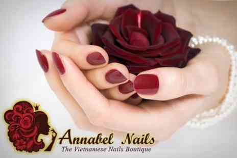 Annabel Nails - Manicure and Pedicure - Save 68%