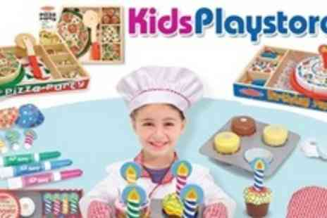Kids Playstore.com - Melissa & Doug Wooden Party Food Toy Combo Set - Save 57%