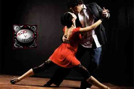 Rojo Y Negro - Ten Beginner Argentine Tango Lessons for £35 - Save 56%