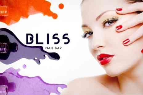 Bliss Nail Bar - Gel Manicure Plus Facial With Massage - Save 71%