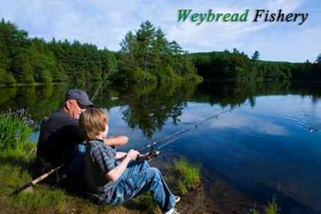 Weybread Fishery - One Day Carp Fishing Experience For One - Save 50%