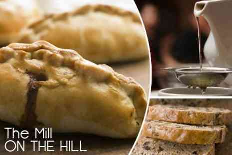 The Mill on the Hill - Welsh Lunch For Two People With Free Tea or Coffee Refills - Save 50%