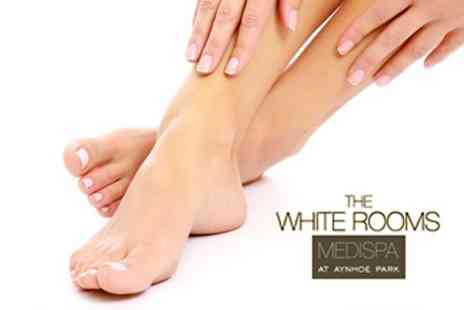 The White Rooms - Luxury Manicure or Pedicure With Mask and Massage - Save 65%