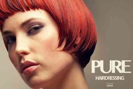 Pure Hairdressing - Director Cut and Blow Dry With Conditioning Treatment - Save 75%