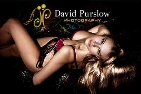 David Purslow Photography - Boudoir Makeover Photoshoot With Print - Save 84%
