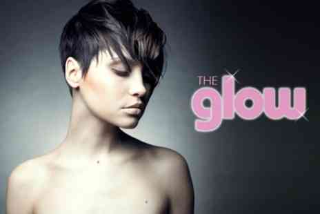 The Glow - Cut and Blow Dry With Conditioning Keratin Treatment - Save 67%
