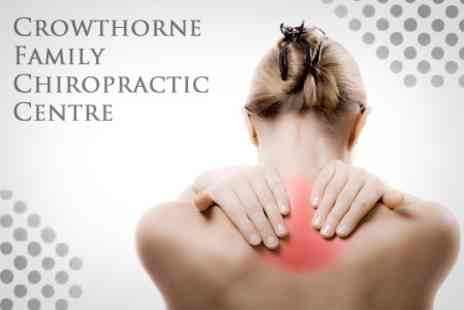 Crowthorne Family Chiropractic Centre - Three Chiropractic Adjustments Plus Consultation - Save 84%