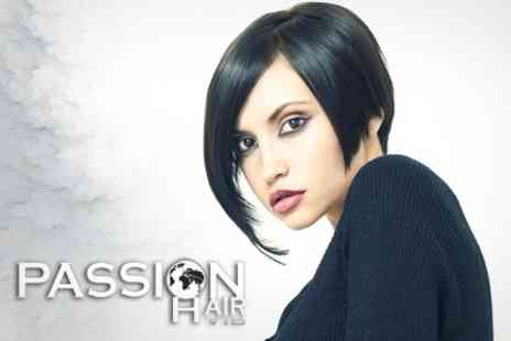 Passion Hair - Half Head Highlights With Cut and Blow Dry Plus Hot Oil Treatment - Save 59%