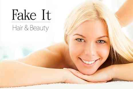 Fake It Hair and Beauty - One Hour Full Body Swedish Massage - Save 54%
