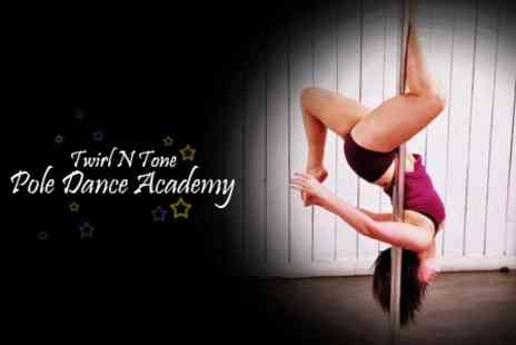 Twirl N Tone Pole Dance Academy - Four 90 Minute Pole Dancing Classes - Save 60%