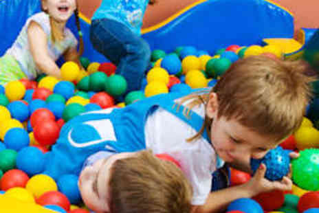 i-Play Soft Play - Soft Play Party for up to Ten Children with Buffet - Save 53%