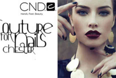 Couture Nails - Shellac manicure and hand massage - Save 51%
