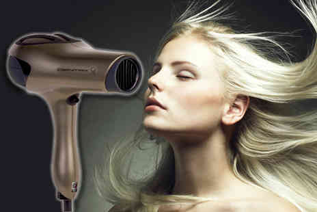 Blush Look - Centrix Q Zone hair dryer - Save 75%