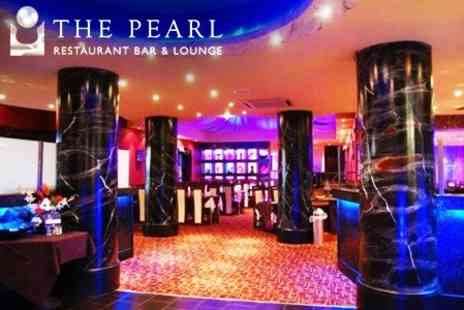 The Pearl Restaurant And Lounge - Two Course Indian Meal With Rice or Naan Plus Wine For Two - Save 63%