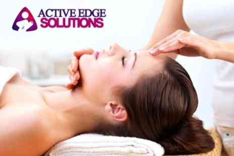 Active Edge Solutions - Choice of Indian Head or Sports Massage Treatment  - Save 50%