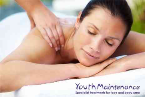 Youth Maintenance - Facial and Massage - Save 62%