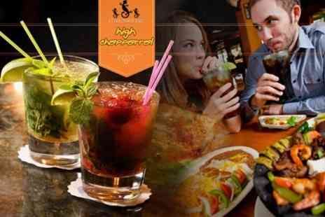 High Chaparral - Three Mexican Sharing Plates and Two Cocktails For Two - Save 53%