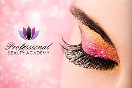 Professional Beauty Academy - Eyelash Extension Course With Guild of Beauty Therapists Certification  - Save 71%