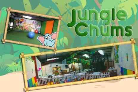 Jungle Chums - Jungle Chums Soft Play Entrance For Adults and One - Save 53%