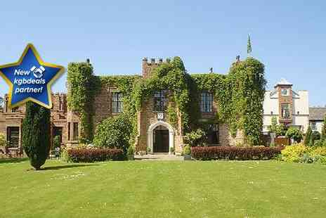 Crabwall Manor Hotel and Spa - An exciting two night stay for two in historic Chester, at the Crabwall Manor Hotel & Spa, including full English breakfast and free access to the spa  - Save 50%