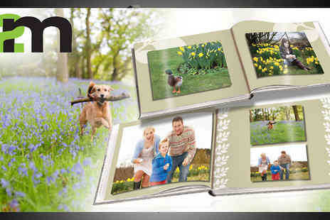 2M Print Ltd - Save all your amazing memories in this 20 plus page A4 Landscape Photobook - Save 67%