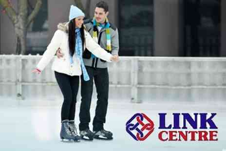 The Link Centre - Ice Skating With Skate Hire For Two or Family of Five - Save 52%