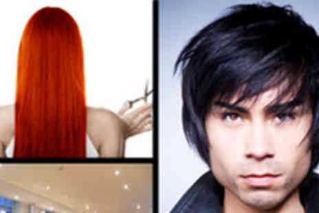 XS Hair and Beauty - Restyle, Blowdry and Finish plus Treatment Or Shellac Manicure with Soak Off - Save 68%